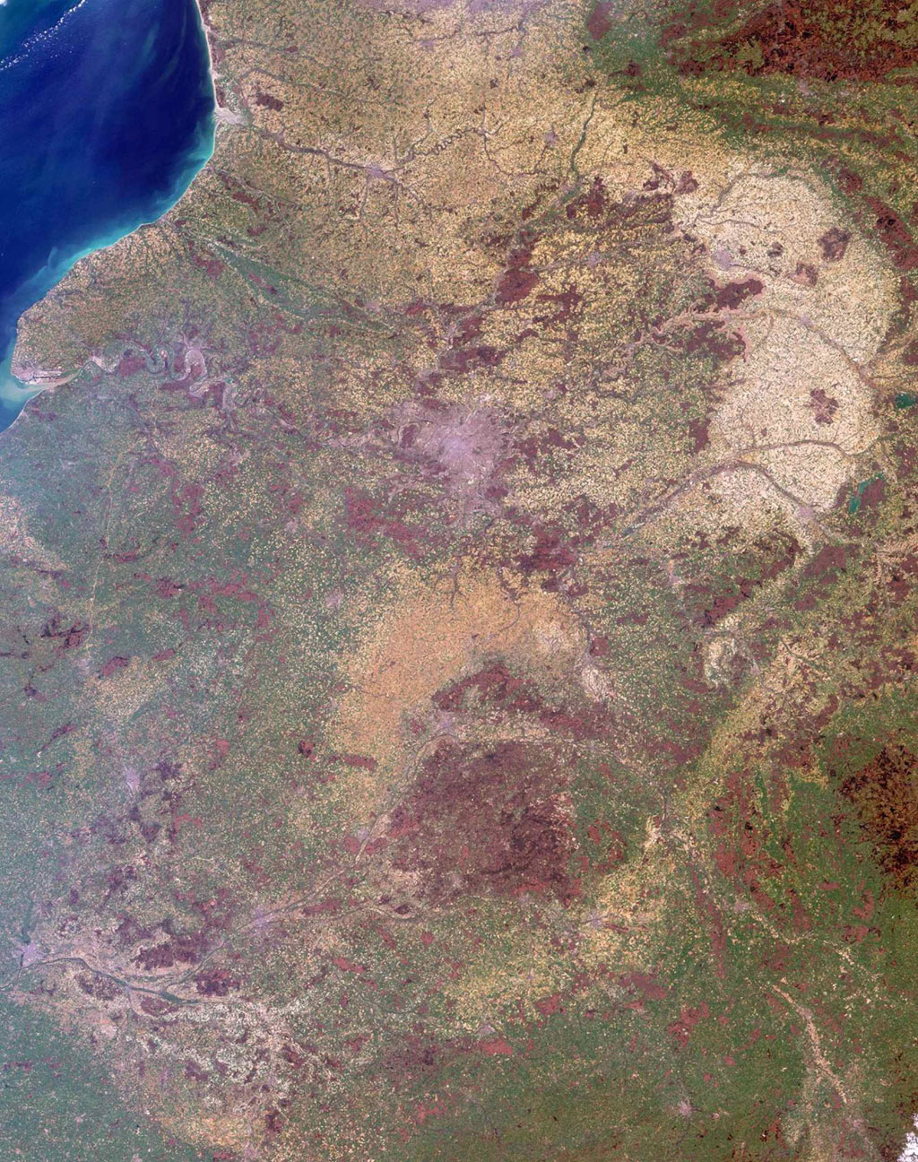 Space Images | Where On Earth? Misr Mystery Image Quiz tout Quiz Régions De France