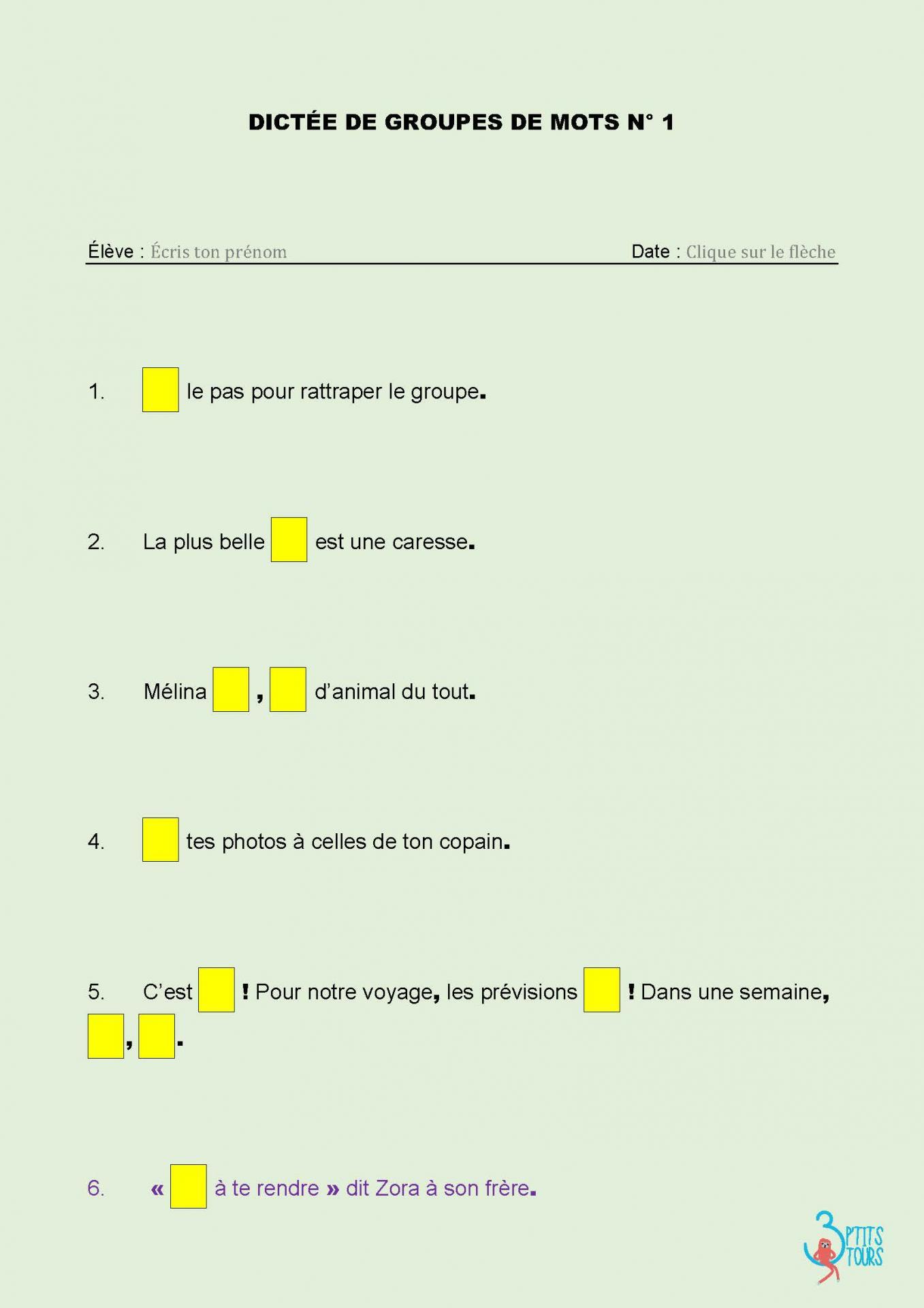 Spécial Dys / Élèves À Bép : Je Mémorise Et Je Sais Écrire avec Mots Fleches Cm1 Imprimer