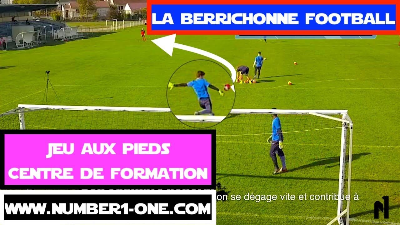 Spécifique Gardien De But Jeux Aux Pieds Centre De Formation Goalkeeper La  Berrichonne Châteauroux pour Jeux De Foot Gardien De But
