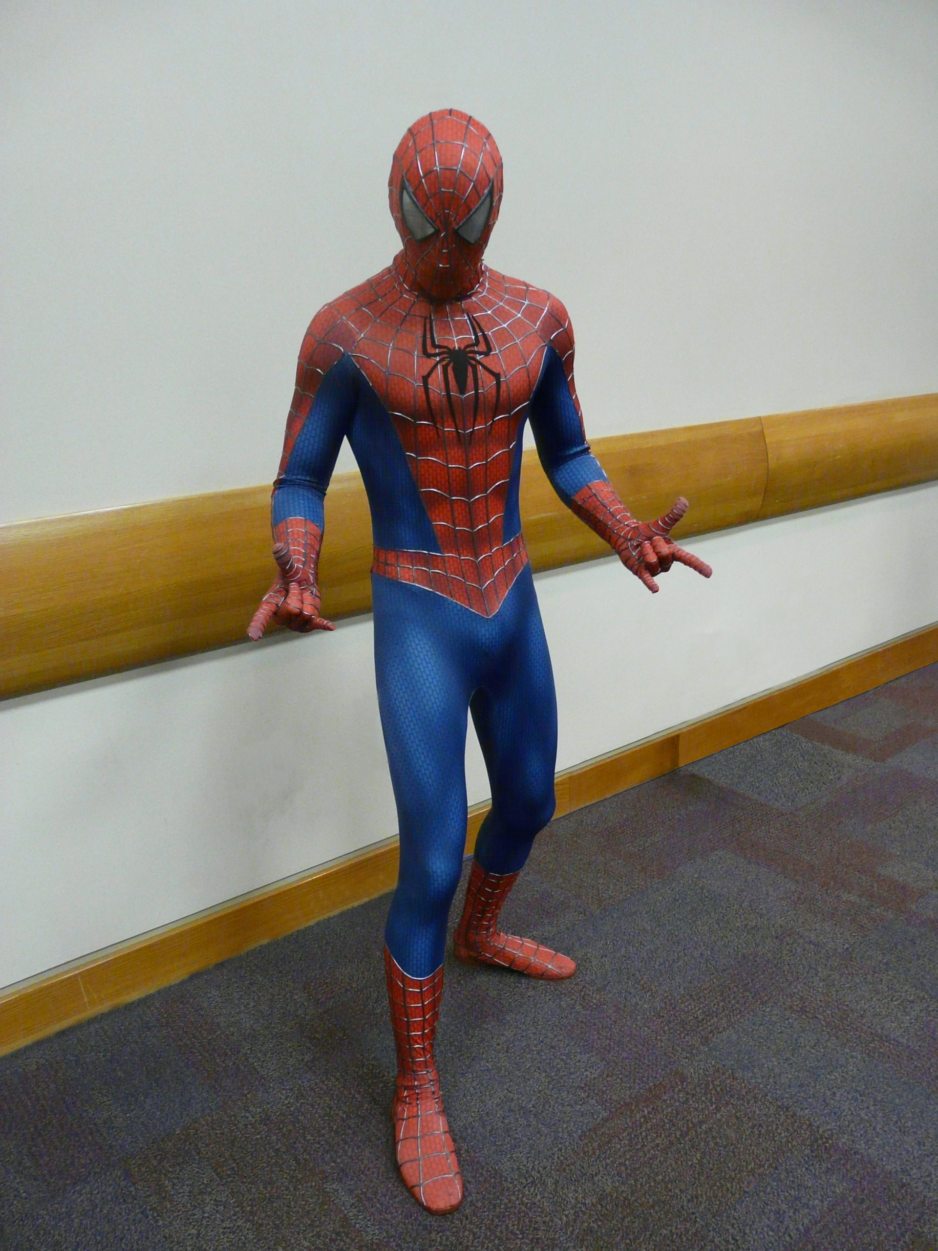 Spider-Man — Wikipédia intérieur Masque Spiderman A Imprimer