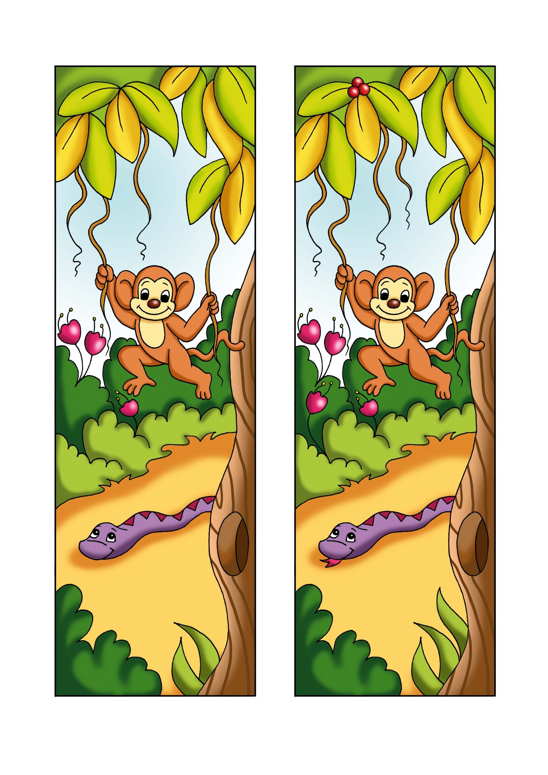 Spot The Difference Animal Worksheet | Printable Worksheets à Trouver La Différence