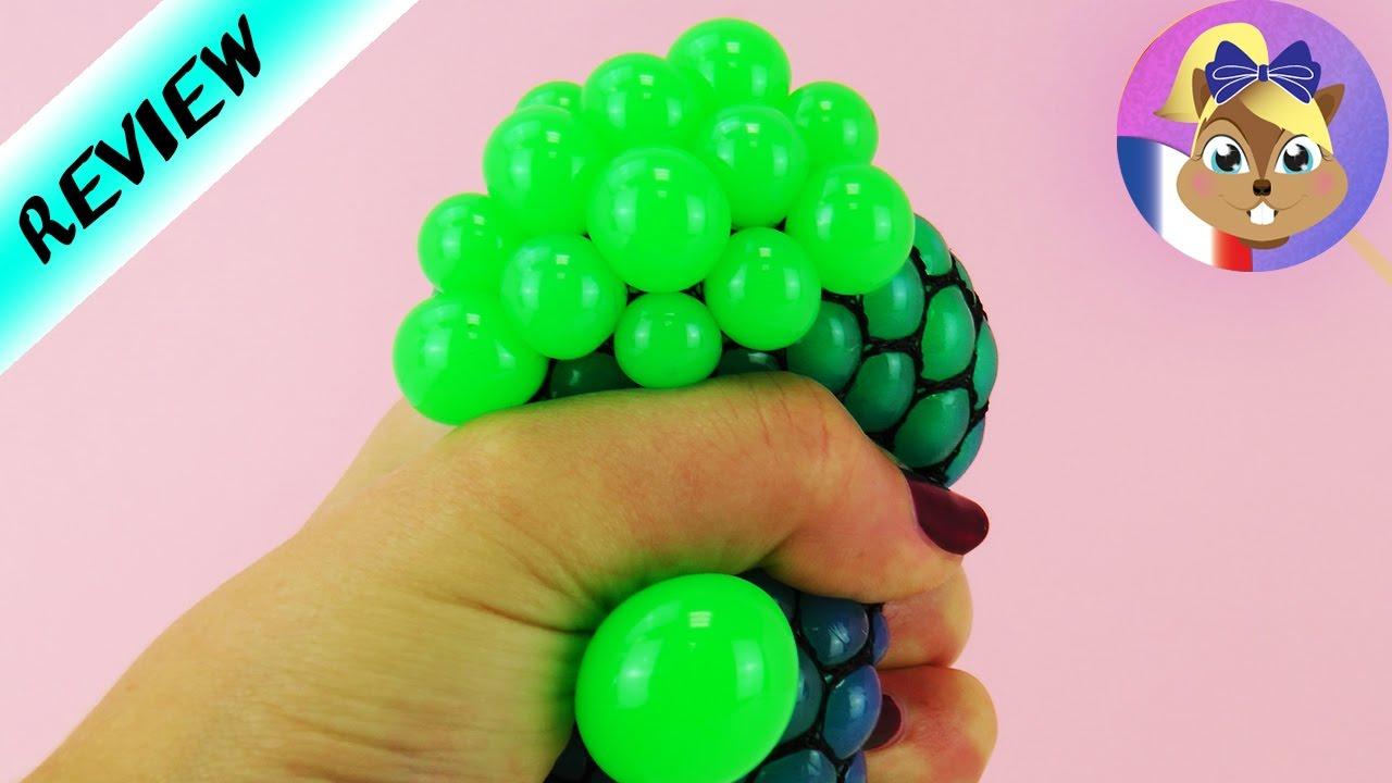 Squishy Mesh Ball Français - Super Balle Anti-Stress À Chiffonner Et Pour  Jouer | Review pour Jeux De Anti Stress