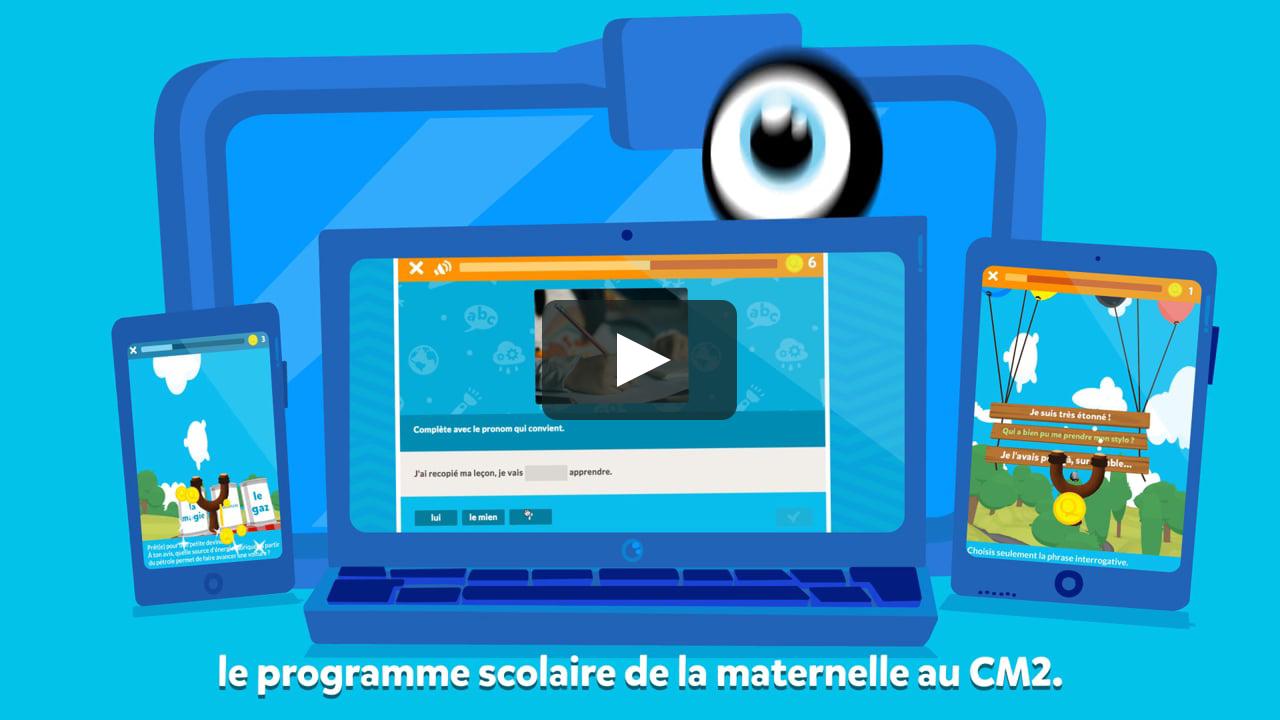 Squla France Tour - Un Apprentissage Digital Et Ludique: Jeux Éducatifs De  La Maternelle Au Cm2 concernant Jeux Ludique Maternelle
