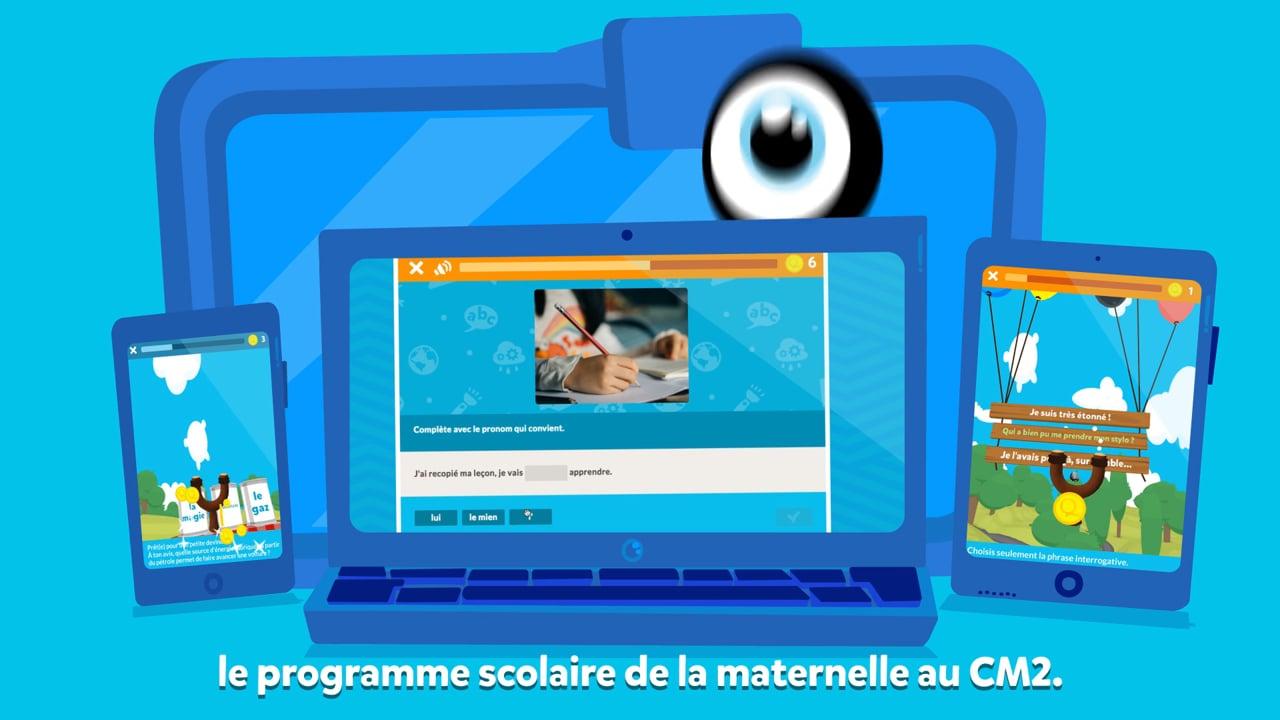 Squla France Tour - Un Apprentissage Digital Et Ludique: Jeux Éducatifs De  La Maternelle Au Cm2 dedans Jeux Didactiques Maternelle