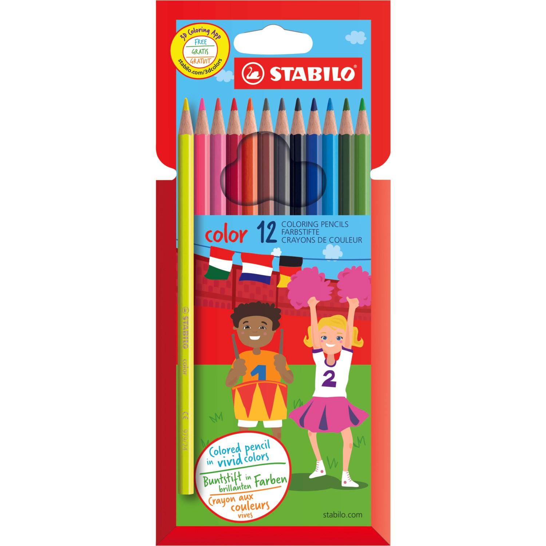 Stabilo Color Kuru Boya 12 Li Hartung concernant Paper Toy Gratuit