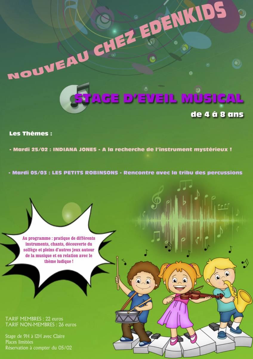 Stages Découverte Musique Pour Les Enfants De 4 À 8 Ans À encequiconcerne Jeux Pour Enfant De 4 Ans