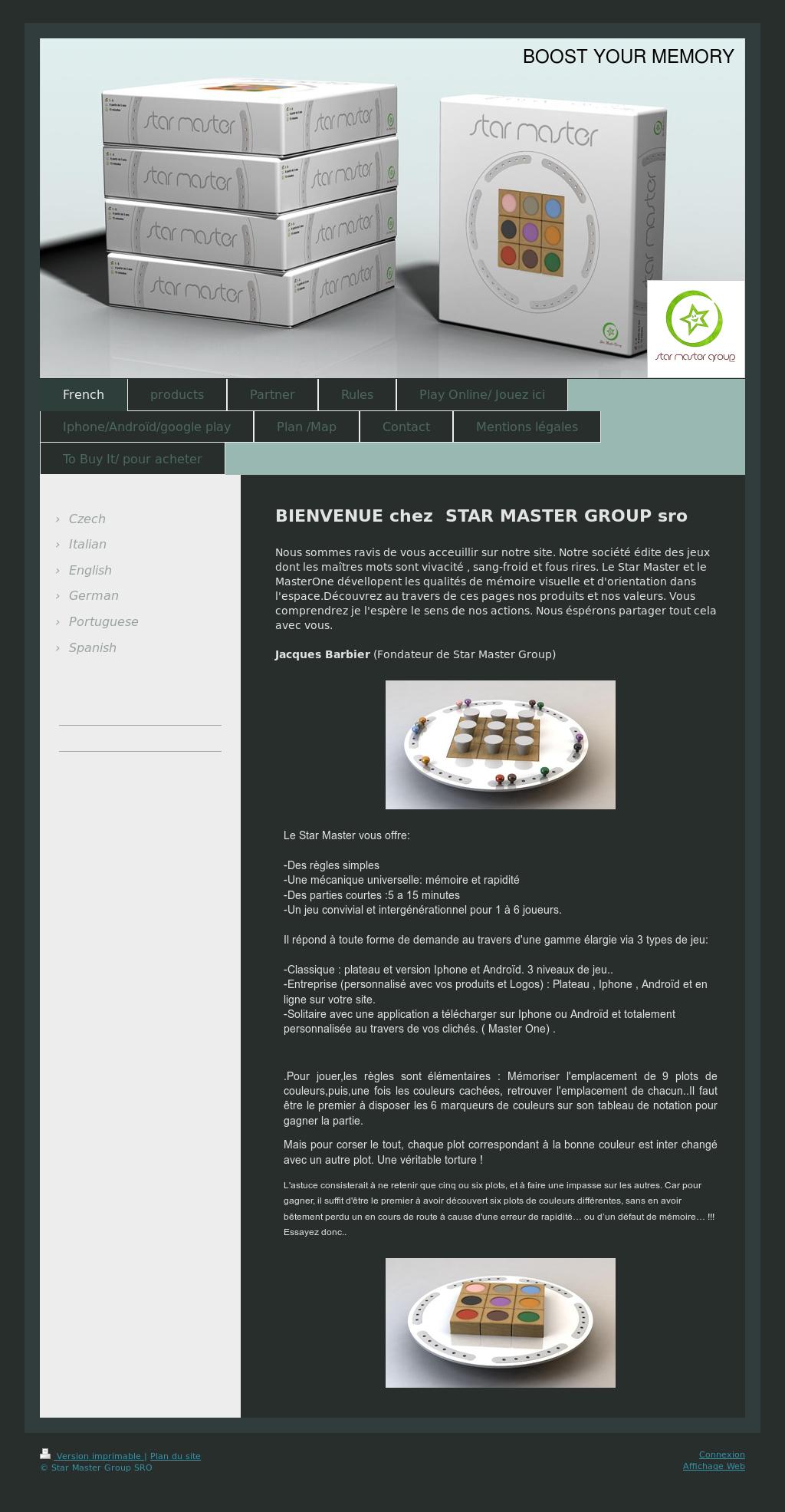Star Master Group Sro Competitors, Revenue And Employees destiné Jeu Memory En Ligne