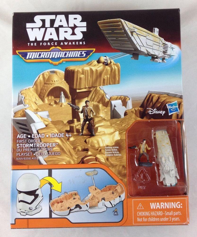 Star Wars Force Awakens Micro Machines Stormtrooper Playset destiné Jeu Force 4