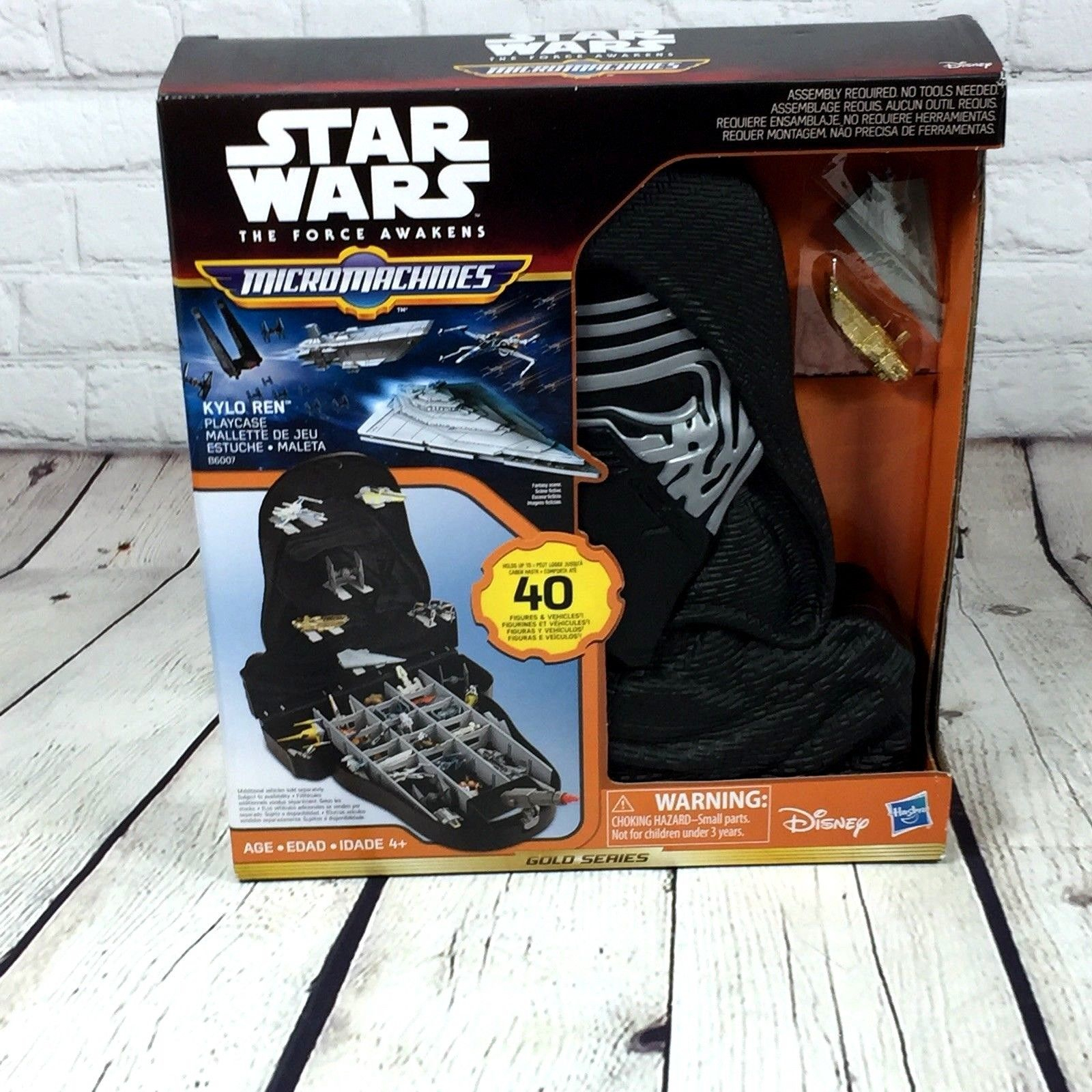 Star Wars The Force Awakens Kylo Ren Micro Machines Play Case Disney Hasbro concernant Jeu Force 4