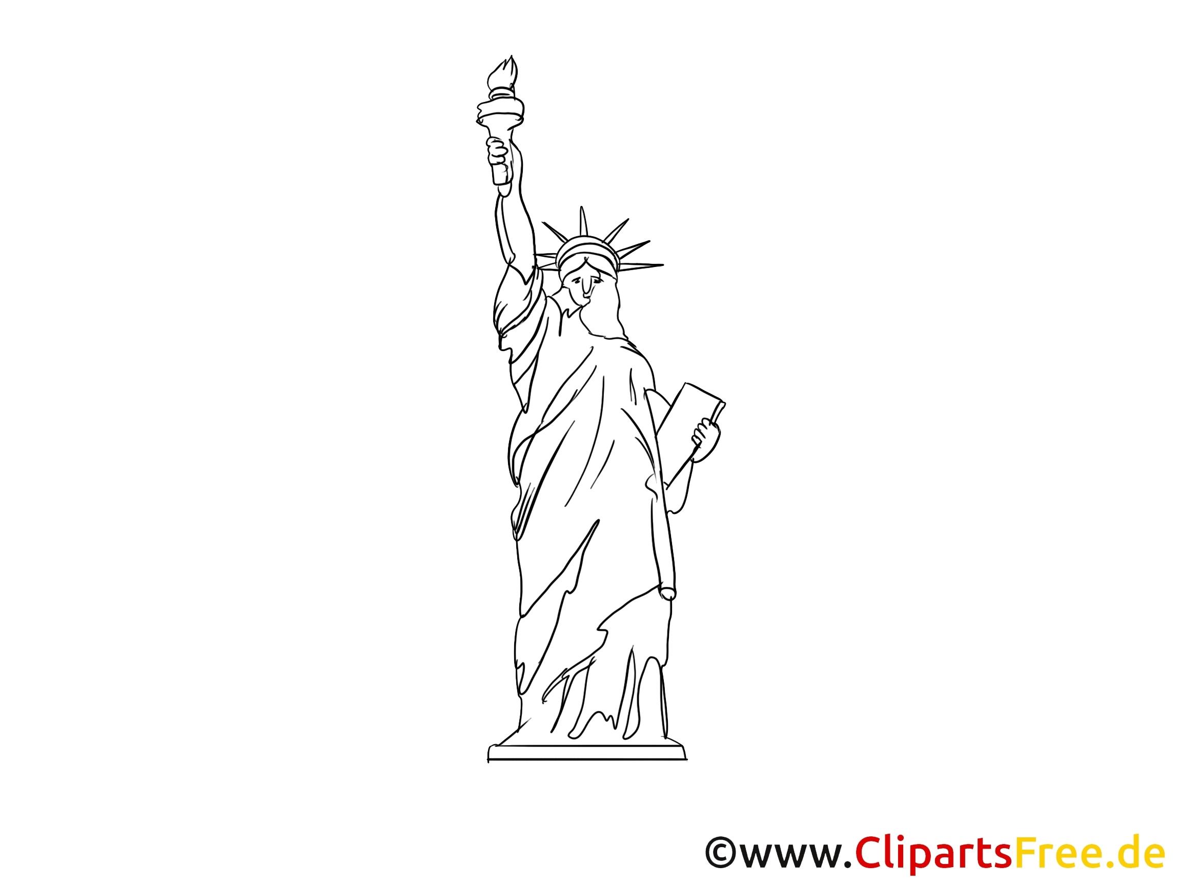 Statue De La Liberté Coloriage Collection – Coloriage En encequiconcerne Dessin À Colorier En Ligne Gratuit