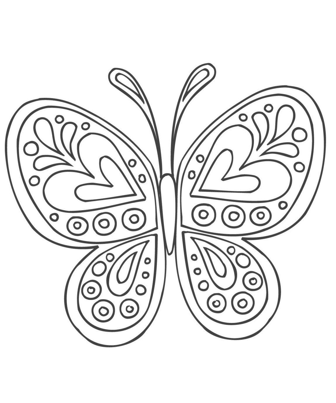 Stci, Coloriage Pour Adultes Et Enfants Mandalas | Coloriage concernant Dessin Papillon À Colorier
