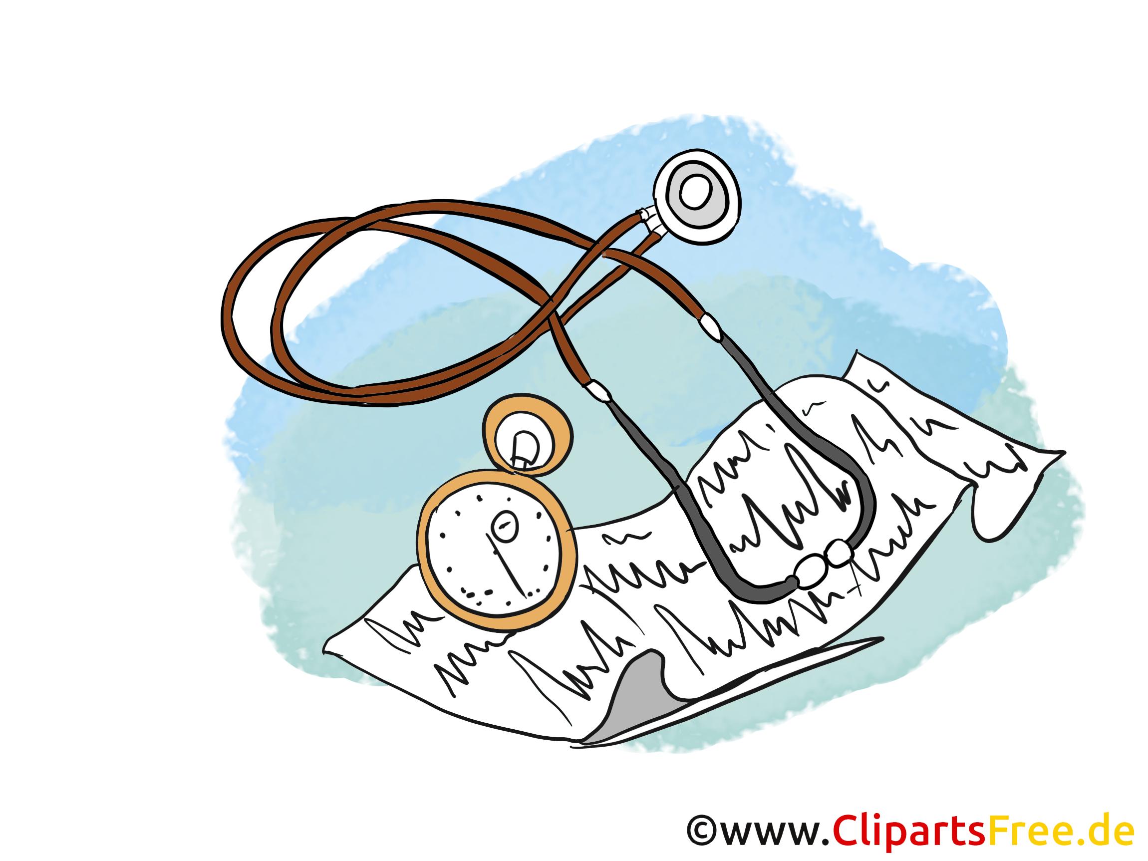 Stéthoscope Clipart, Image, Dessin Animé serapportantà Dessin Stéthoscope