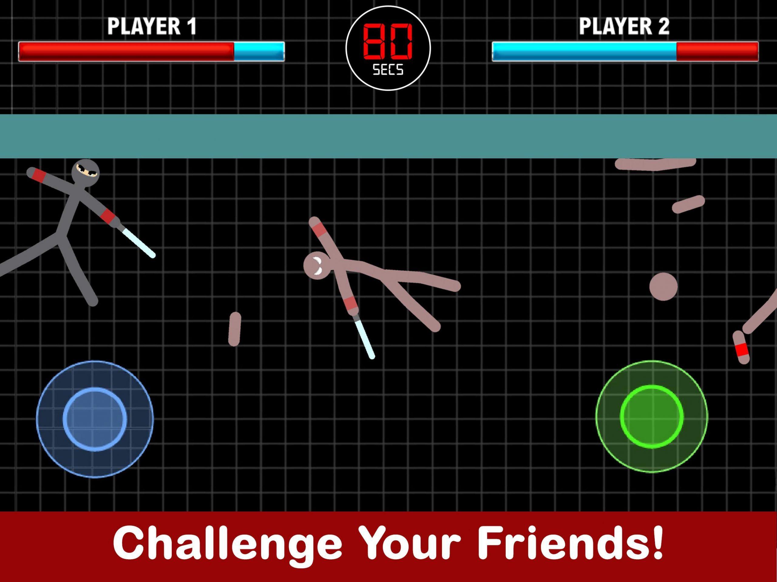 Stickman Fight 2 Player Jeux Pour Android - Téléchargez L'apk à Jeux De Secs