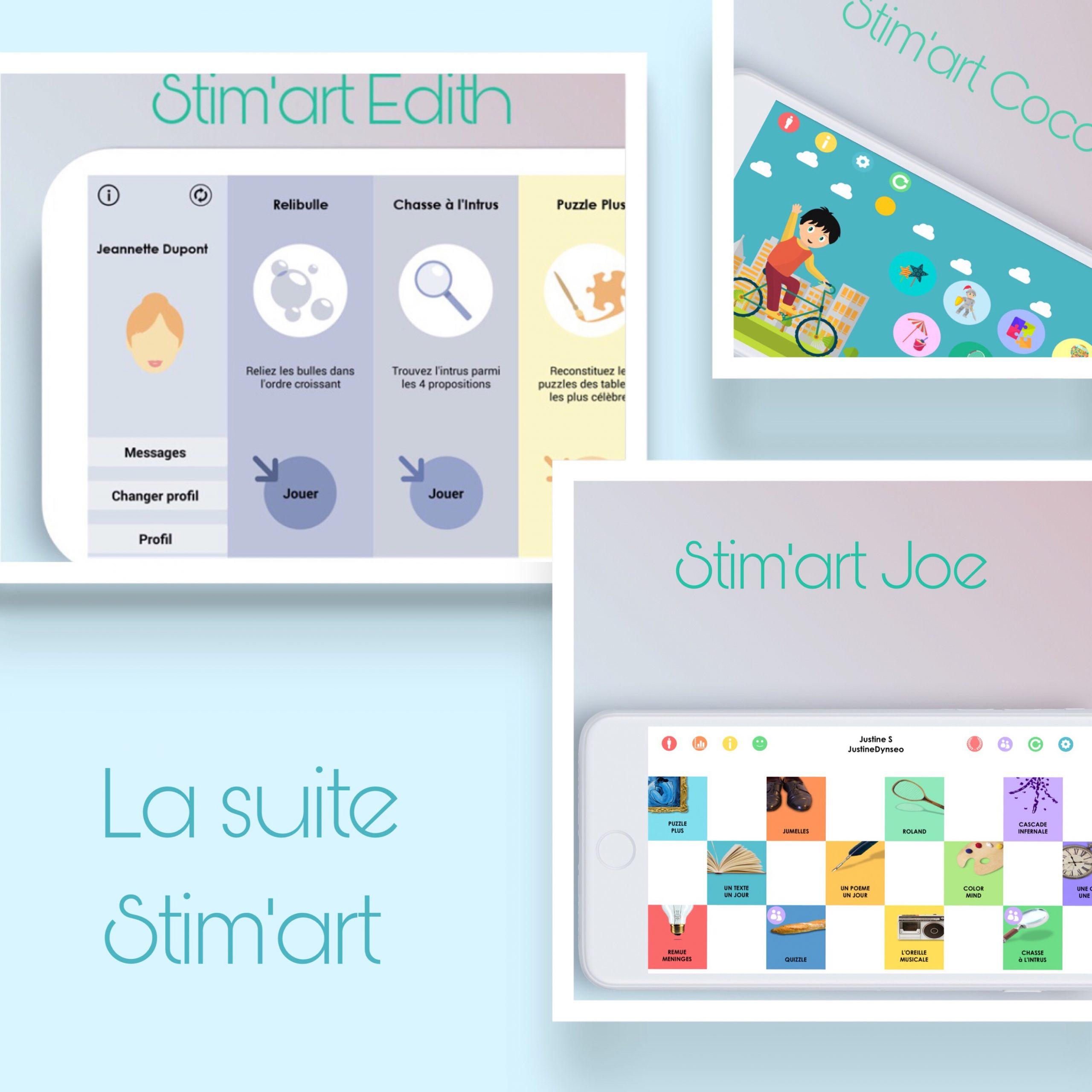 Stim'art : Des Jeux De Mémoire Sur Tablette Et Smartphone dedans Jeux Gratuit De Memoire