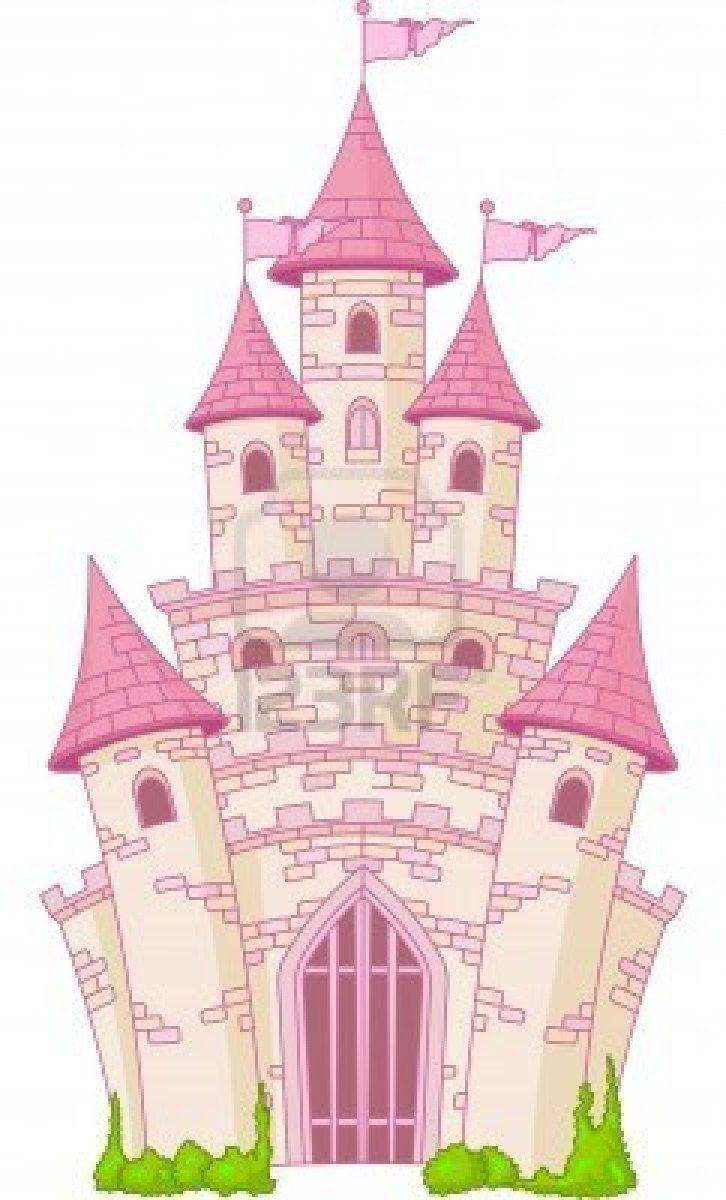 Stock Photo | Dessin Chateau, Coloriage Princesse Et Image à Chateau De Princesse Dessin