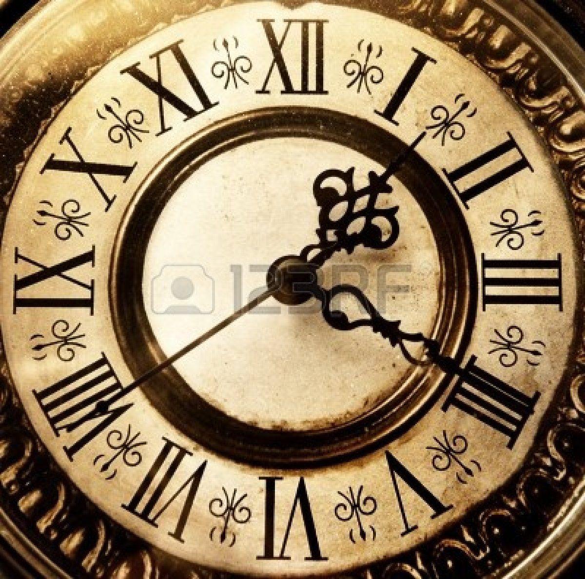 Stock Photo   Horloges Vintage, Horloges Anciennes Et dedans Dessin D Horloge