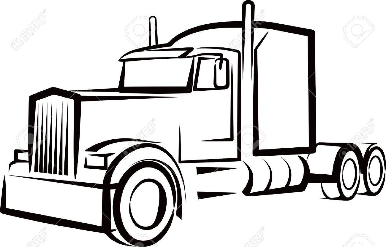 Stock Photo | Uage D'un Camion, Dessin Camion Et destiné Dessin D Un Camion