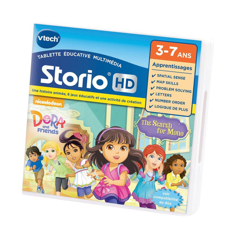 Storio - Jeu Hd Dora Et Ses Amis serapportantà Jeu Educatif 3 Ans