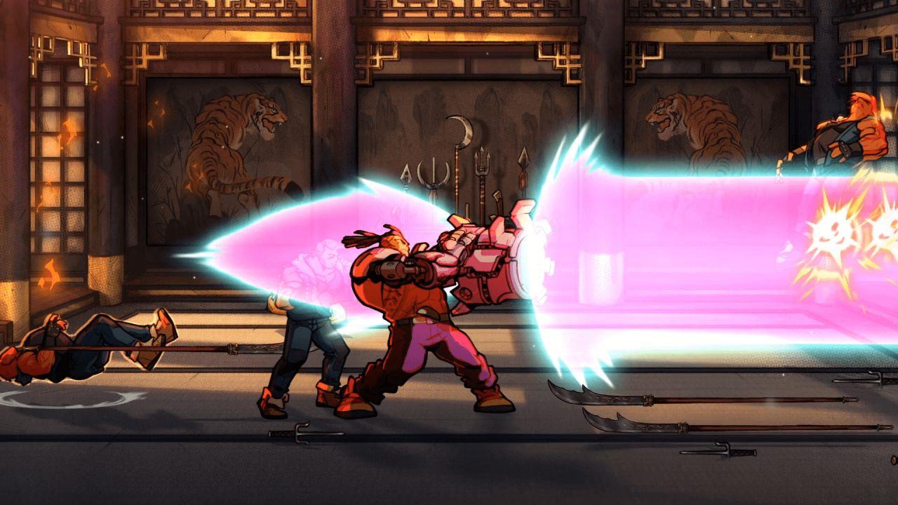 Streets Of Rage 4 : Nouveau Personnage Jouable, Baston À tout Jeux A Deux En Ligne