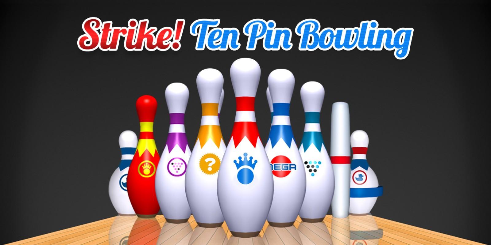 Strike! Ten Pin Bowling | Jeux À Télécharger Sur Nintendo tout Jeux De Bouligue