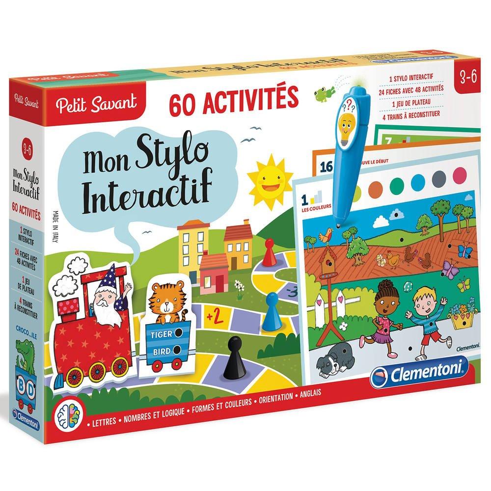 Stylo Parlant 60 Activites | Lire, Écrire, Compter | Jouéclub à Jeux Educatif 5 Ans