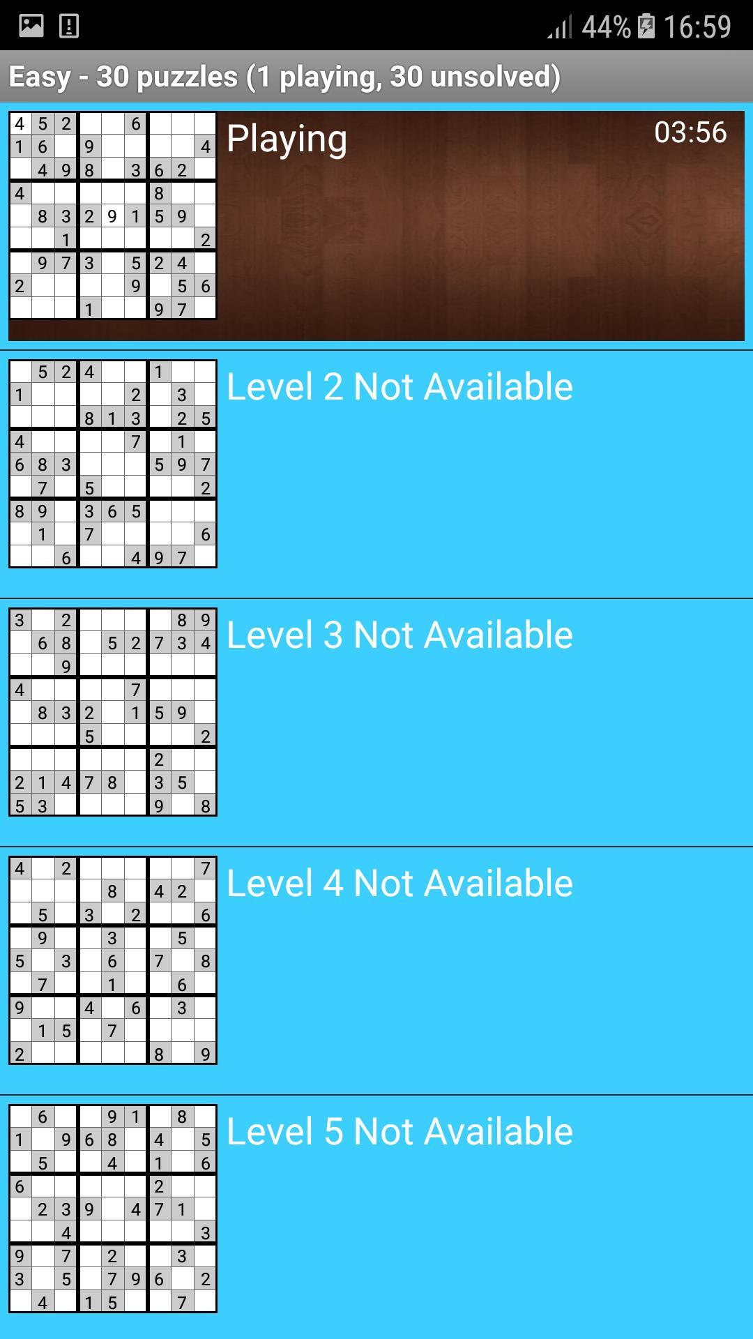 Sudoku Для Андроид - Скачать Apk destiné Sudoku A Imprimer