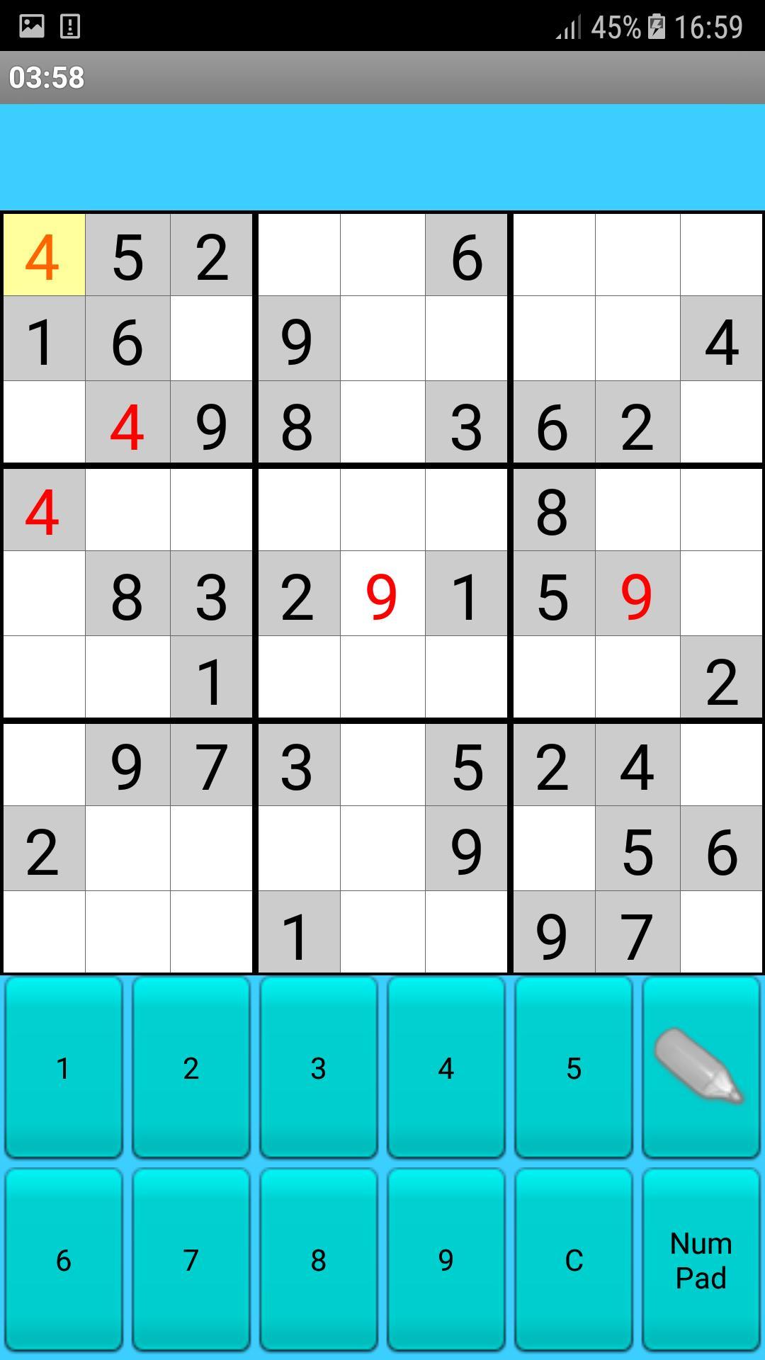Sudoku Для Андроид - Скачать Apk tout Sudoku Junior À Imprimer
