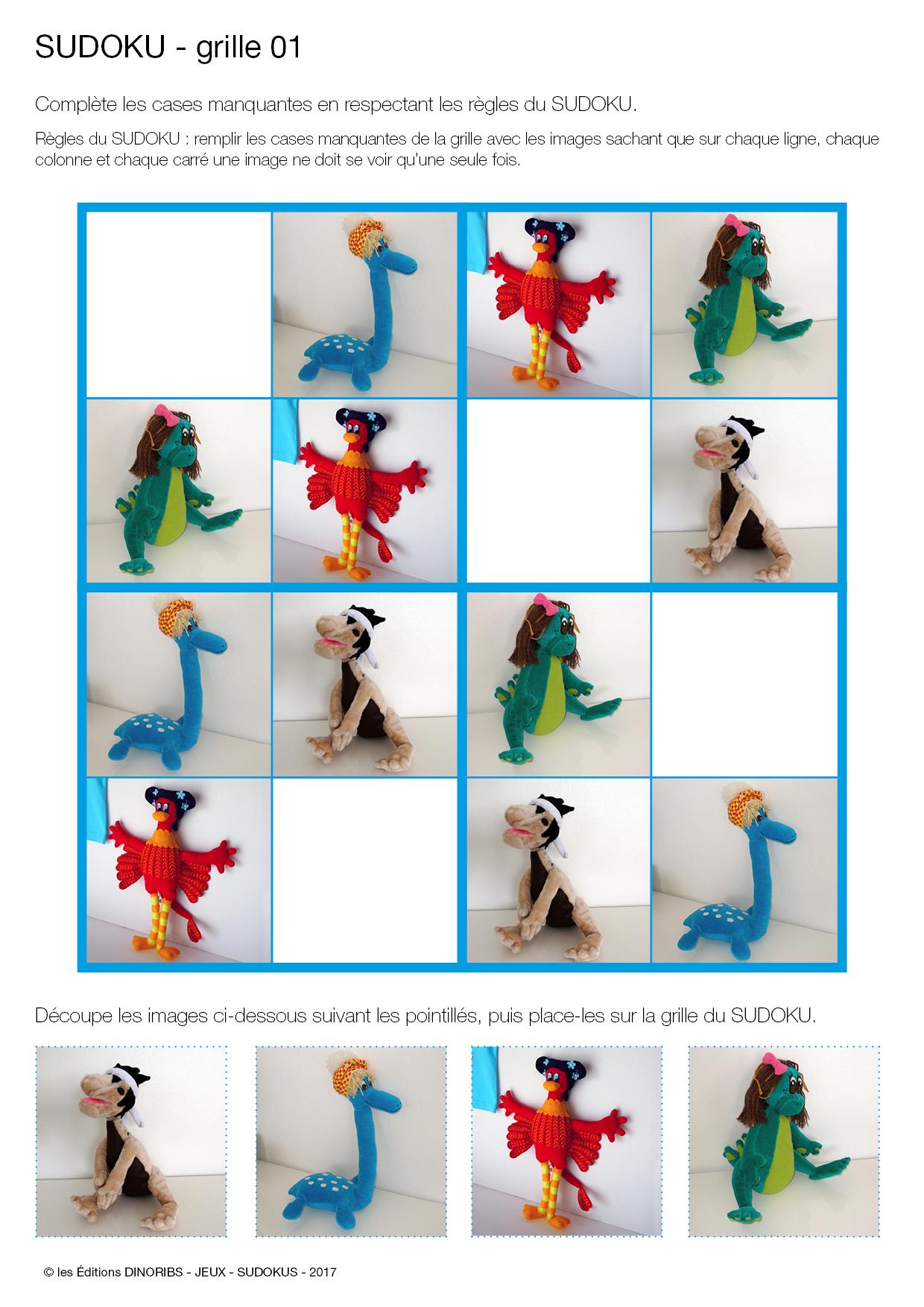Sudoku Des Dinosaures - Jeux Pour Les Enfants De 3 À 6 Ans intérieur Jeux En Ligne Enfant 2 Ans