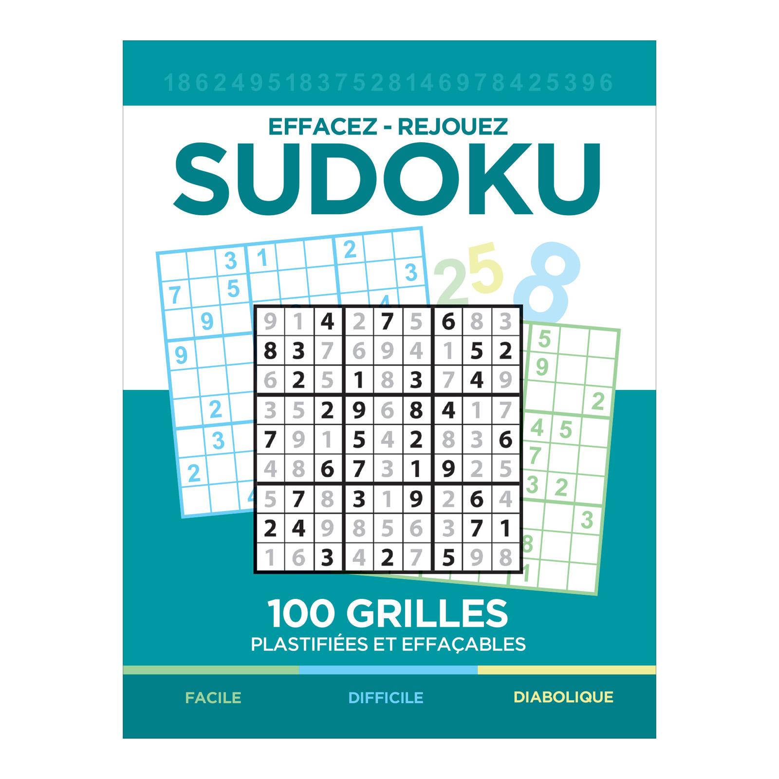 Sudoku Effaçable dedans Sudoku Gratuit Enfant