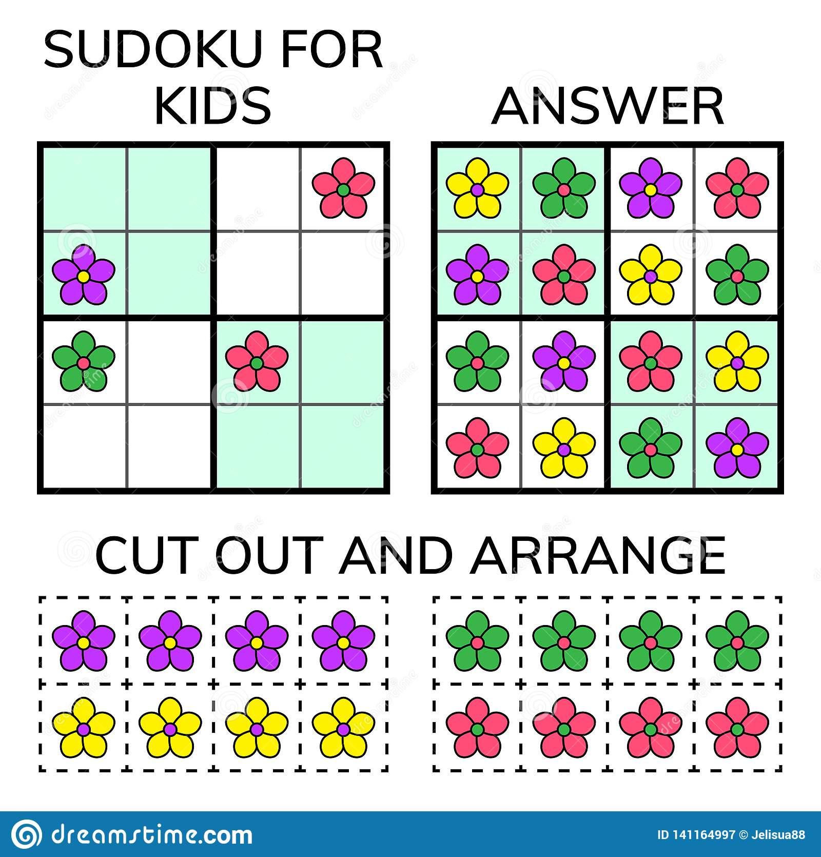 Sudoku Enfants Et Mosaïque Mathématique Adulte Grand Dos dedans Rébus Facile Avec Réponse