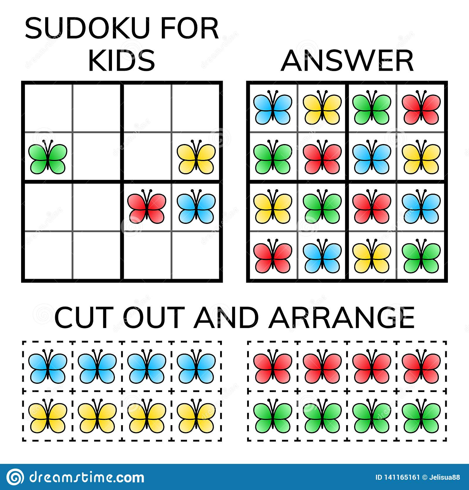 Sudoku Enfants Et Mosaïque Mathématique Adulte Grand Dos tout Rebus Enfant