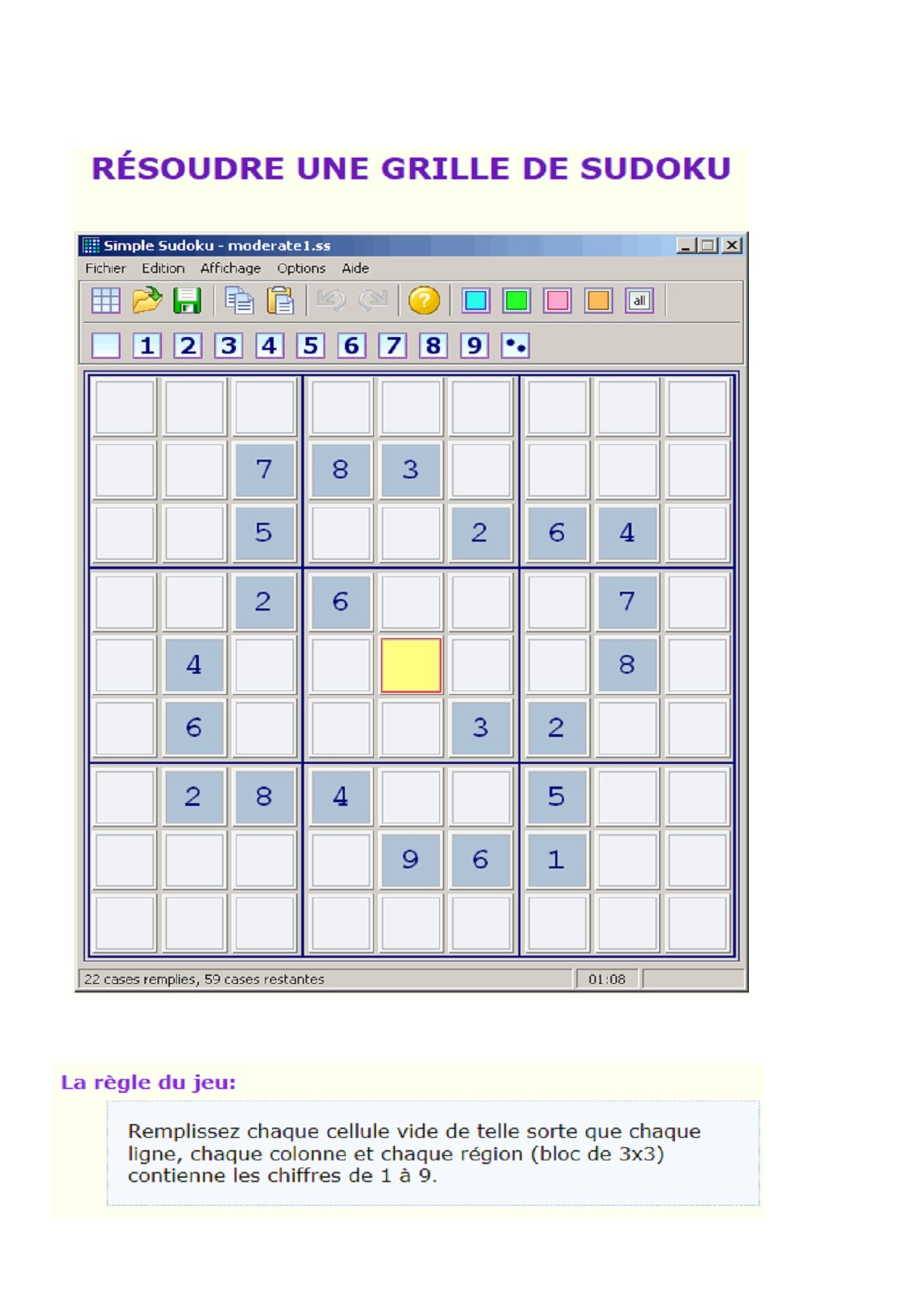 Sudoku | Fliphtml5 tout Jeu Le Sudoku