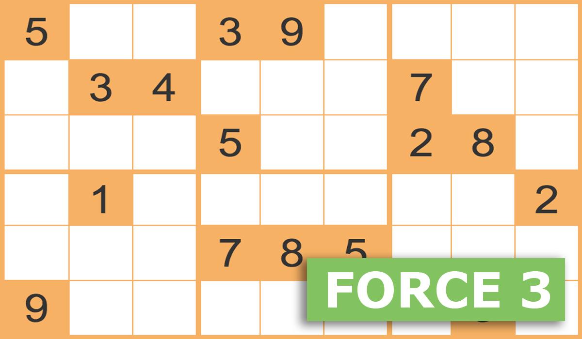 Sudoku Force 3 Gratuits En Ligne - Grilles Sudoku Force 3 serapportantà Jeu De Puissance 4 Gratuit En Ligne