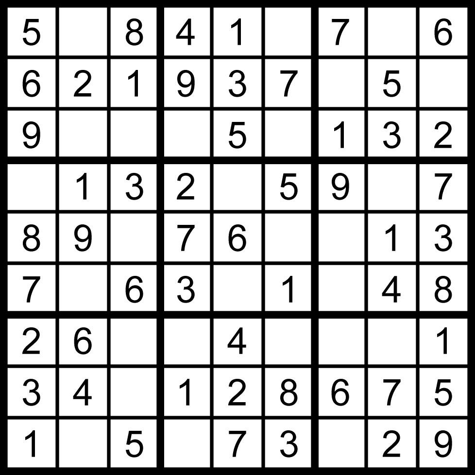 Sudoku, Je Me Détends En Jouant En Ligne à Sudoku A Imprimer