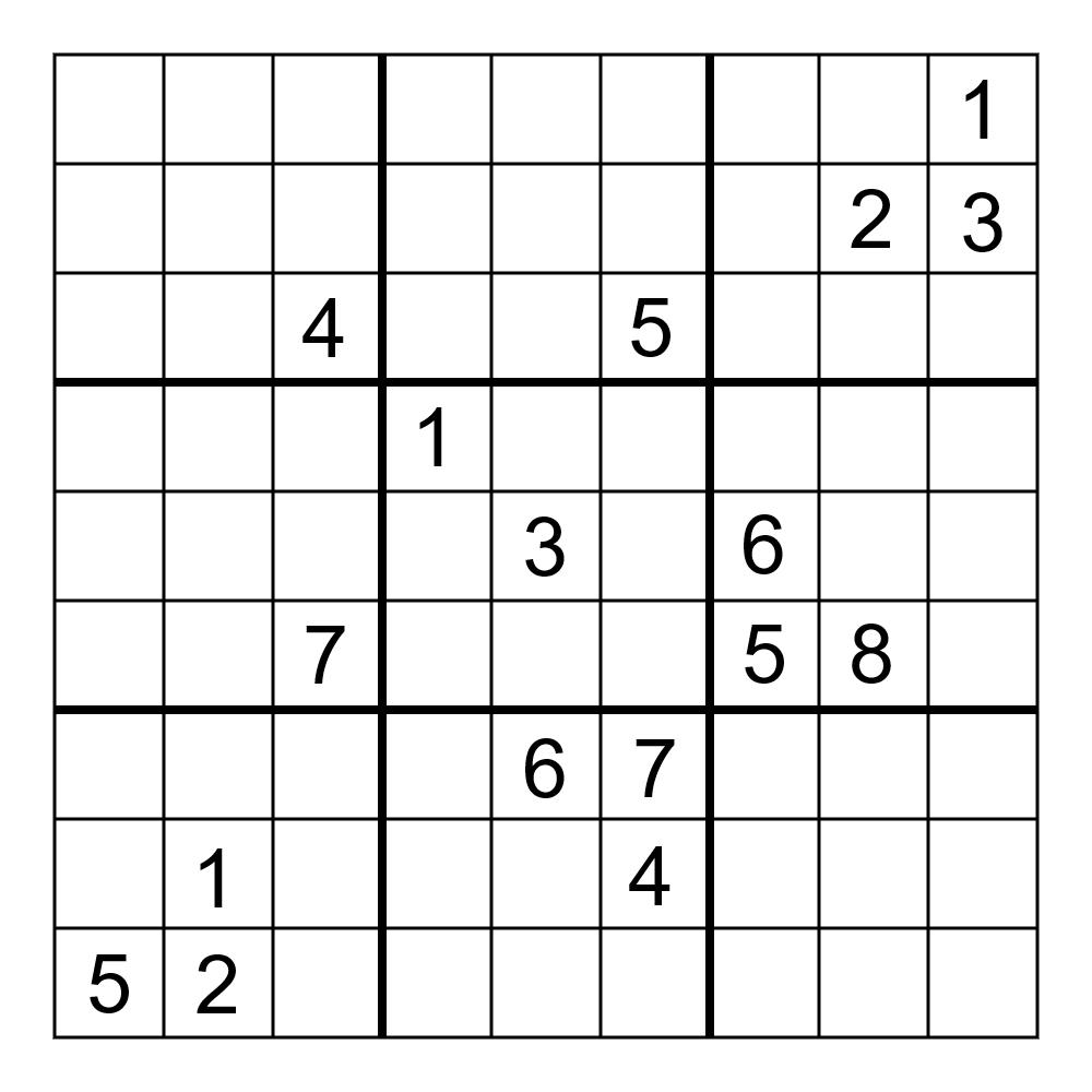 Sudoku June 2017 Online Pdf - Ielts General Reading Books à Sudoku Junior À Imprimer