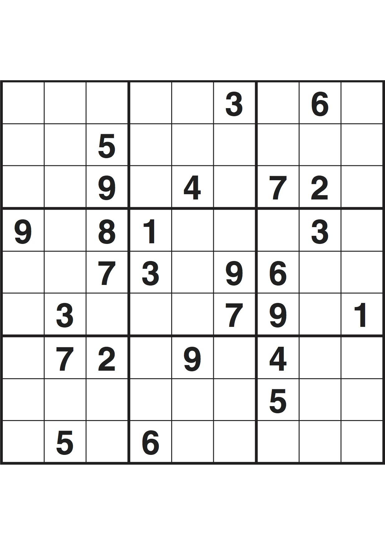 Sudoku June 2017 Online Pdf - Ielts General Reading Books dedans Sudoku Junior À Imprimer