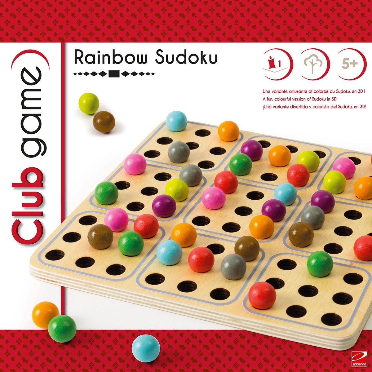 Sudoku Rainbow - Jeux De Société Et Puzzles - La Grande Récré intérieur Jeu Le Sudoku