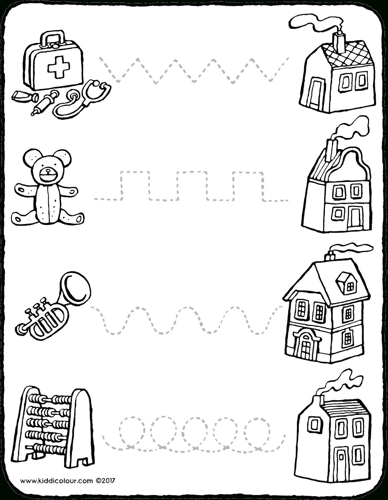 Suis Les Pointillés - Kiddicoloriage destiné Jeux Relier Les Points