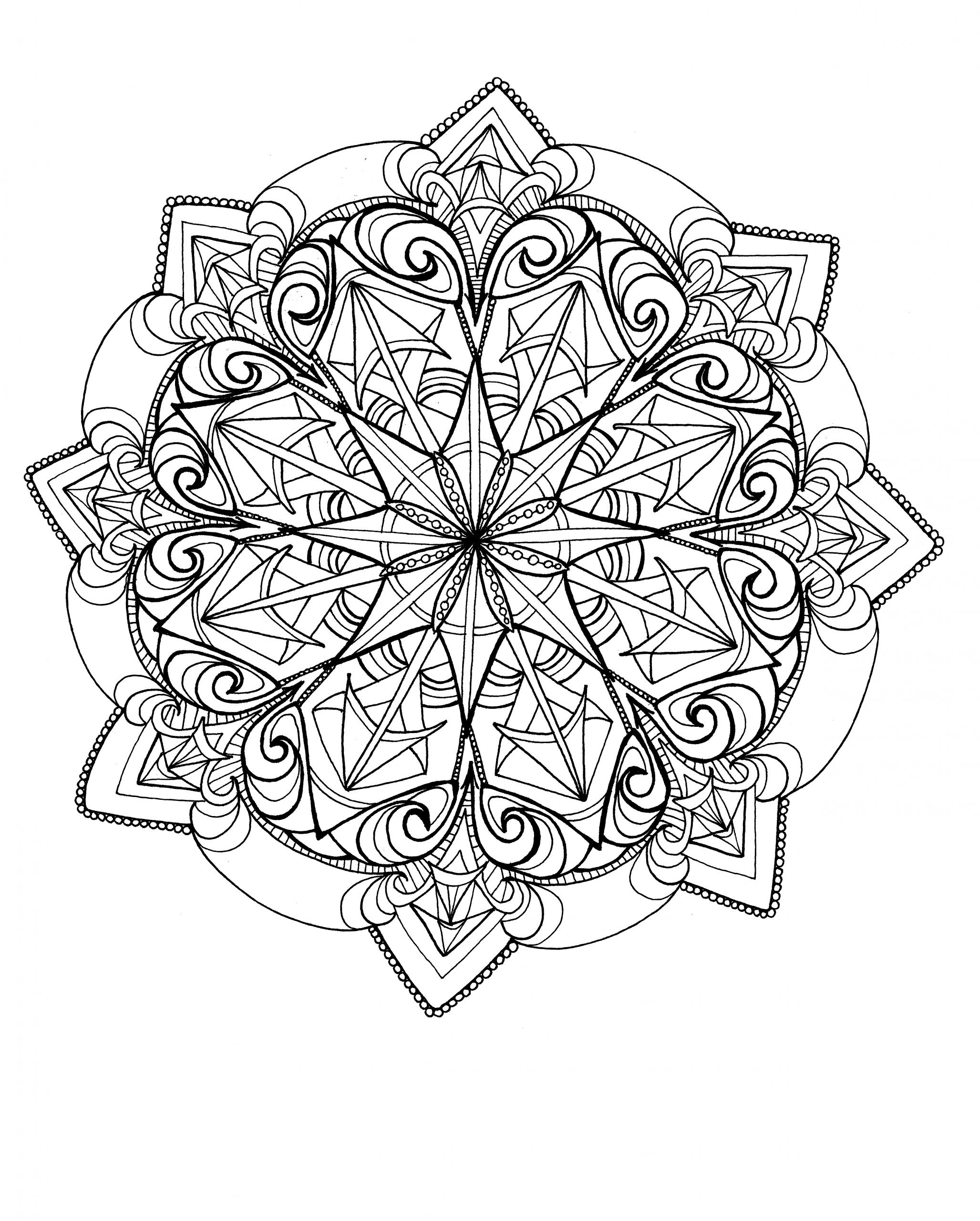 Summer Art Experiences: Drawing Mandalas - Columbia Center For The Arts à Mandala Fée