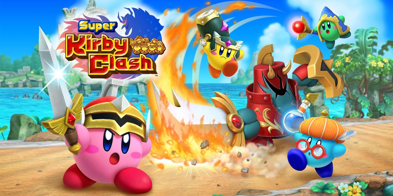 Super Kirby Clash | Jeux À Télécharger Sur Nintendo Switch concernant Jeux Gratuits À Installer