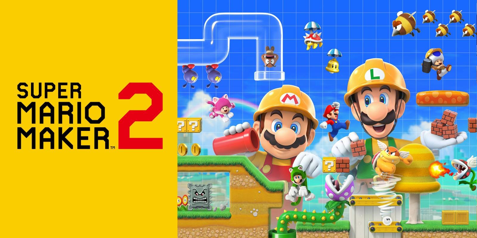 Super Mario Maker 2 | Nintendo Switch | Jeux | Nintendo tout Jeux A Deux En Ligne