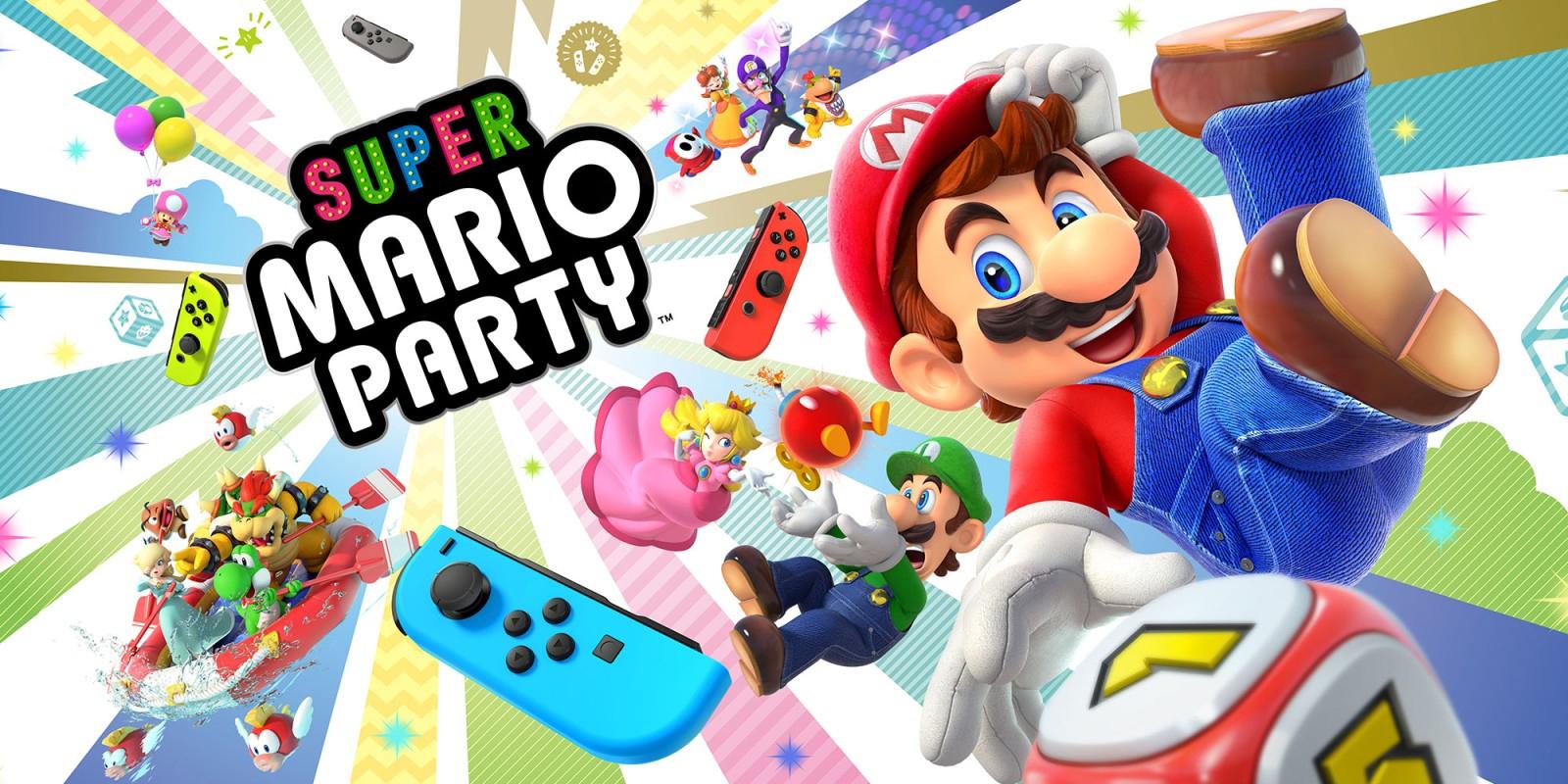 Super Mario Party | Nintendo Switch | Jeux | Nintendo intérieur Jeux A Deux En Ligne