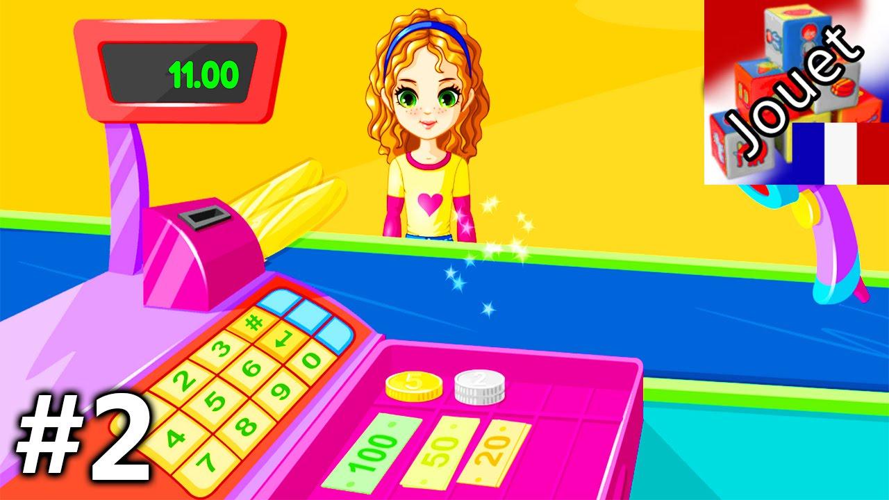 Supermarket Jeu Pour Enfants Application Français - Faire Les Courses Sans  Arrêt! Apps And Games dedans Jeux Course Enfant