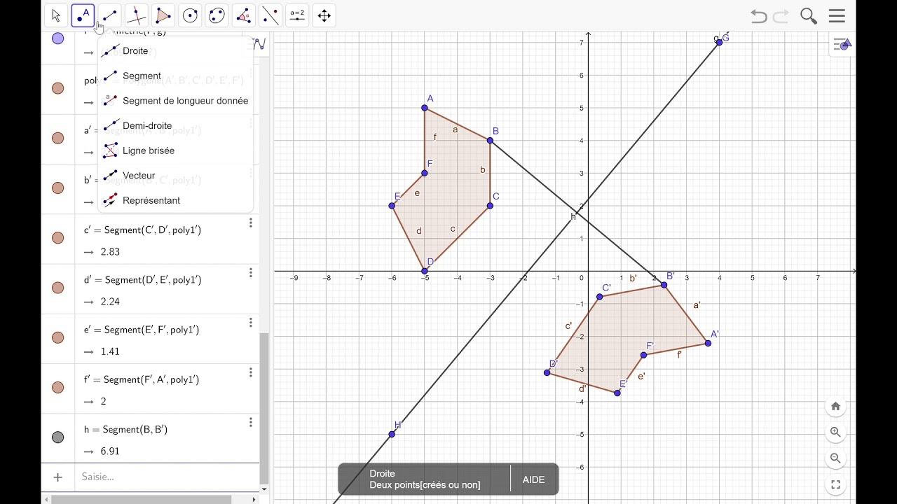 Symétrie Axiale tout Symetrie Axial
