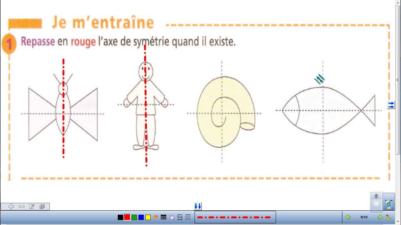 Symétrie Ce2 Exercices encequiconcerne Exercice Symétrie Ce1