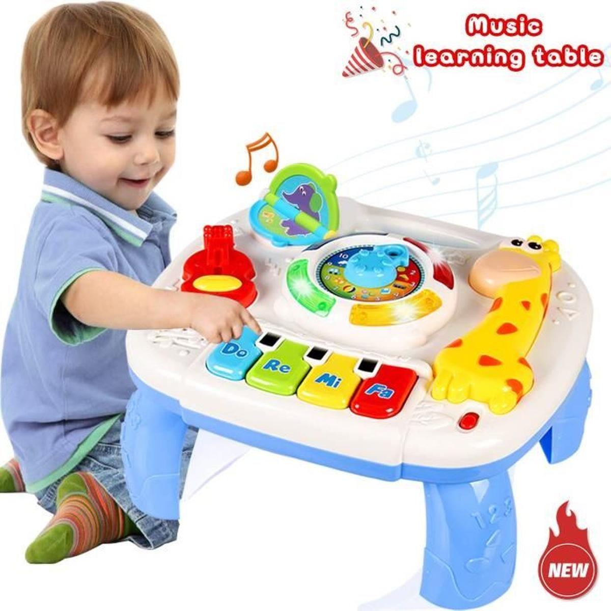 Table D'étude Musicale Jouet Pour Les Bébés De 18 Mois Jouet destiné Jeux Pour Les Bébé De 1 Ans