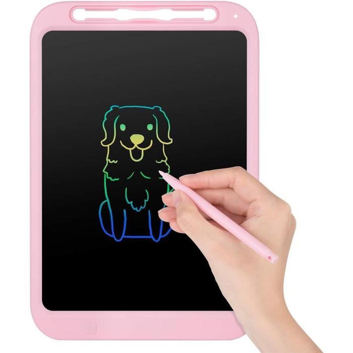 Tableau D'écriture Lcd 12 Pouces, Tablette À Dessin intérieur Tablette Enfant Fille
