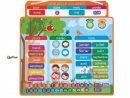 Tableau Semainier Magnétique - Jeu Éducatif - Janod pour Jeux Educatif 7 ans