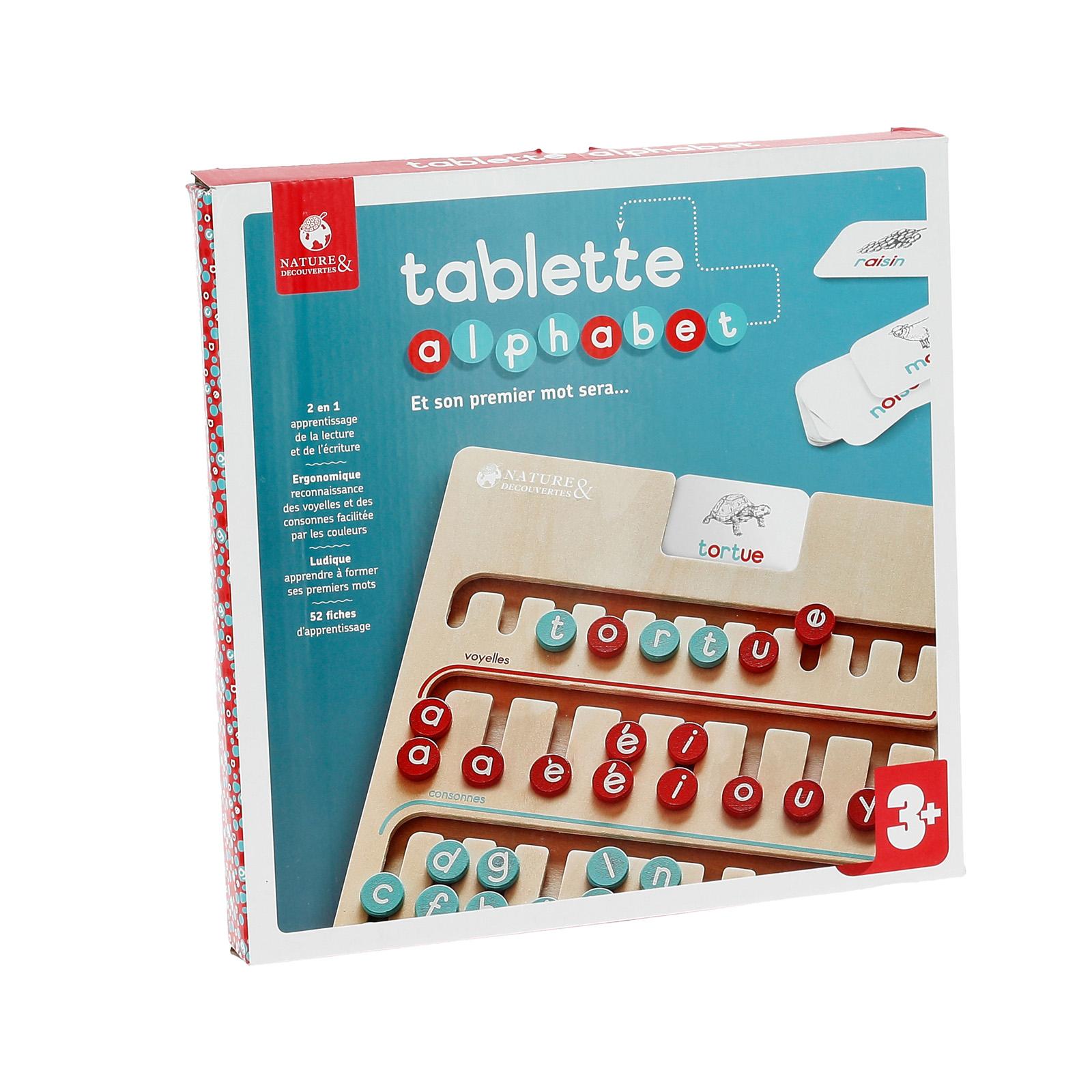 Tablette Alphabet à Jeux Pour Apprendre L Alphabet