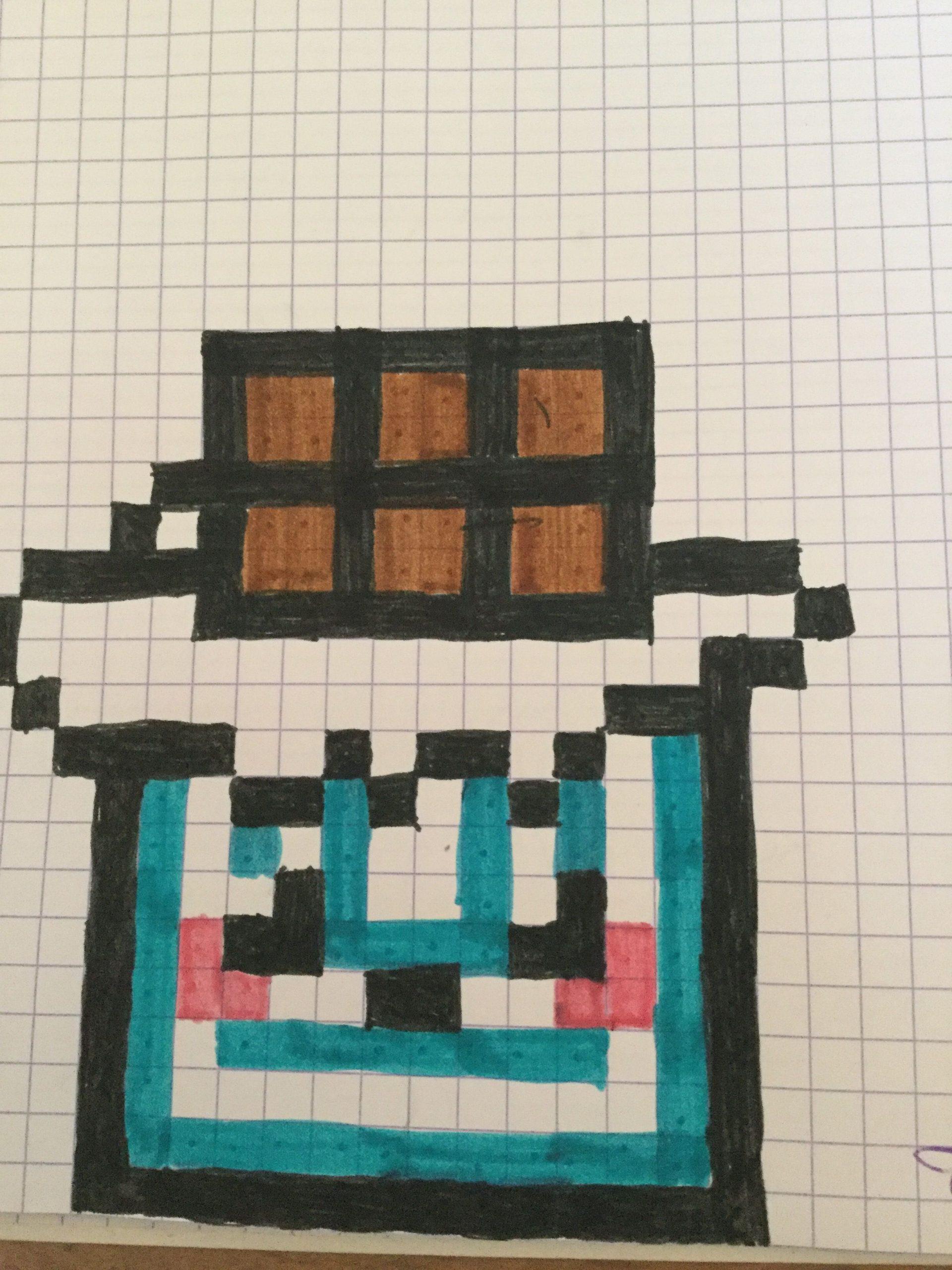Tablette De Chocolat (Avec Images) | Pixel Art, Dessin Pixel concernant Tablette Chocolat Dessin
